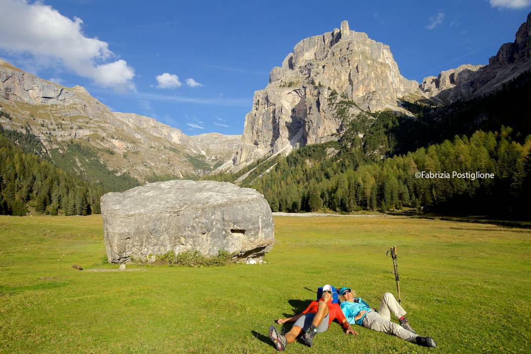 ITALY. South Tyrol. Val Gardena Valley. Vallunga Hike.