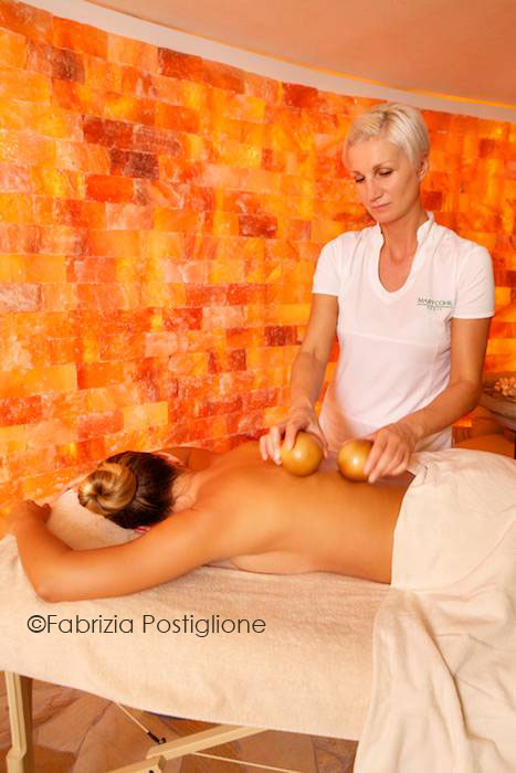 Italy. Trentino. Val di Sole Valley. Commezzadura. Hotel Tevini: Botton D'Oro Spa.