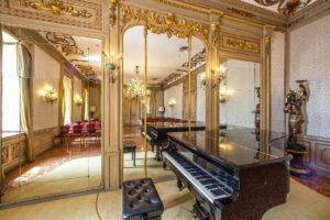 Gli interni dell'Abano Ritz Hotel