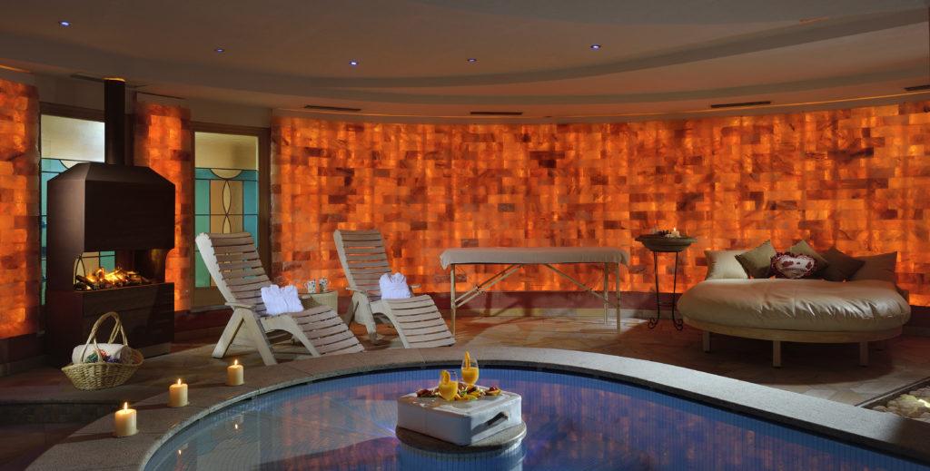 La Spa Goccia D'Oro particolare della Spa Suite Grotta Botton d'Oro - Hotel Tevini