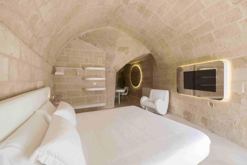 Camere ricavate nei Sassi di Matera