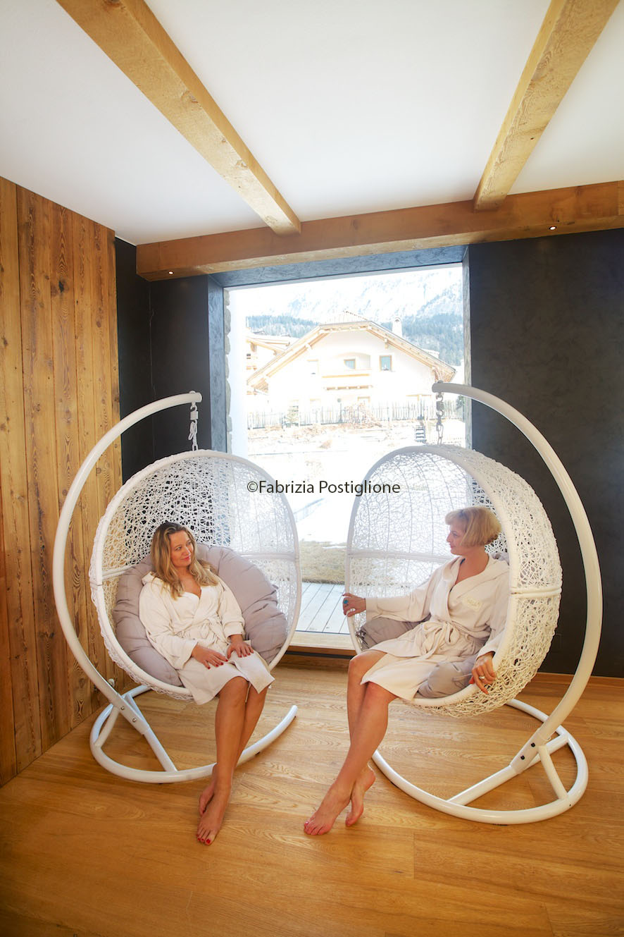 Italy. South Tyrol. Val Gardena Valley. Selva Gardena. Portillo Hotel & Spa.