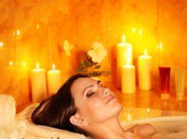 il bagno come rituale di benessere