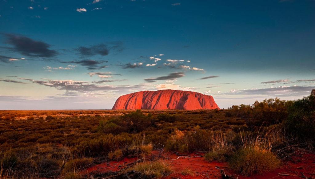 combattere l'ansia viaggiando Uluru
