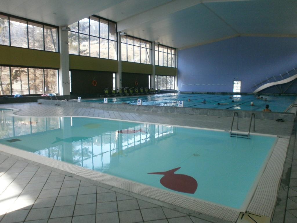 Le piscine del Centro Termale Bormio