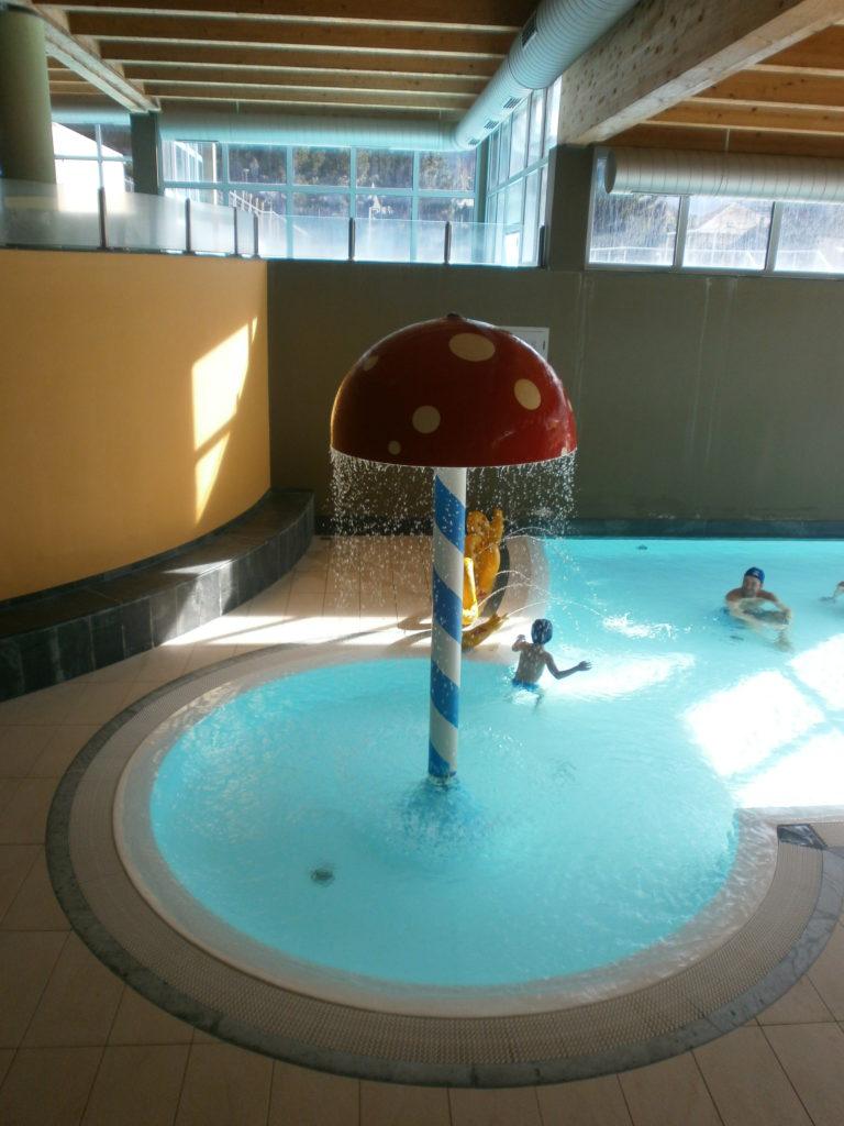 La piscine del Centro Termale Bormio
