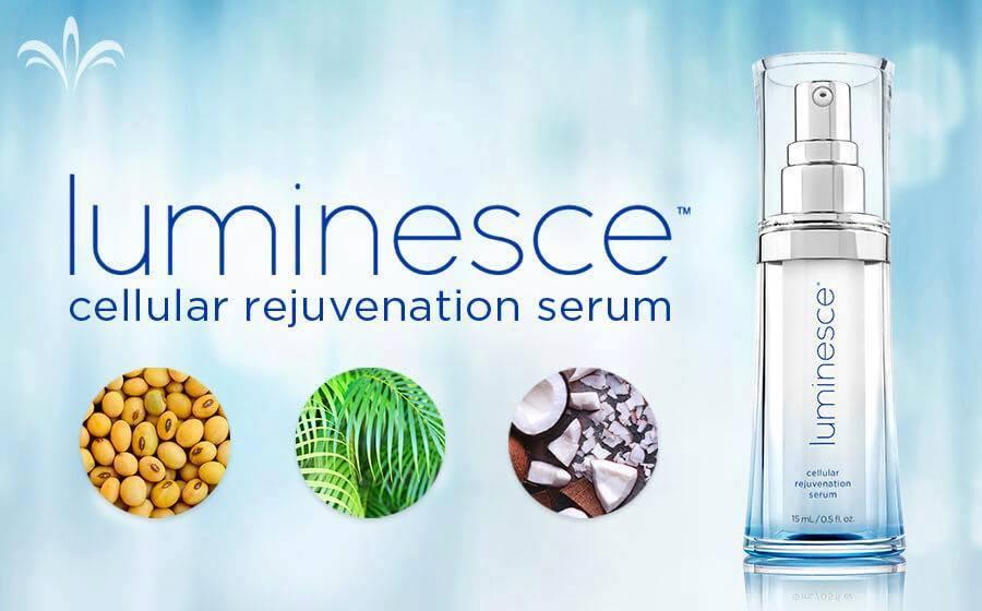 trattamento viso anti age linea luminesce