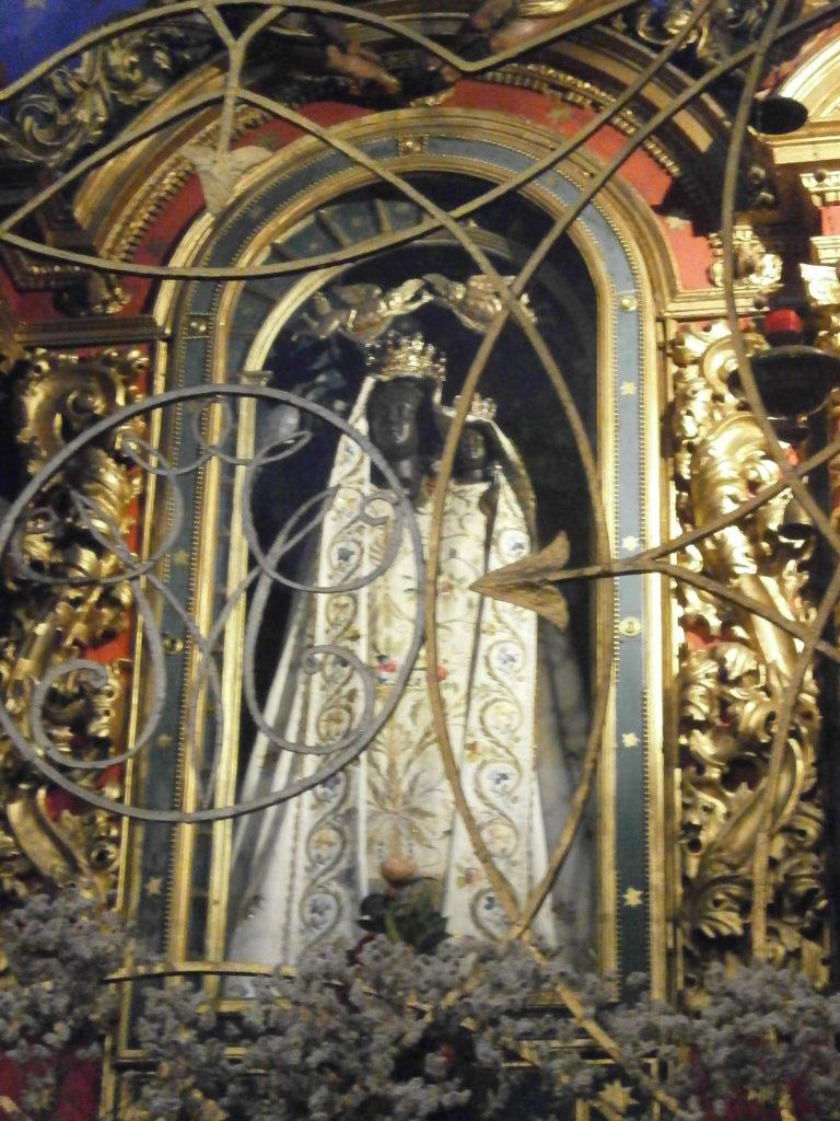Santuario a Tresivio, la Madonna nera