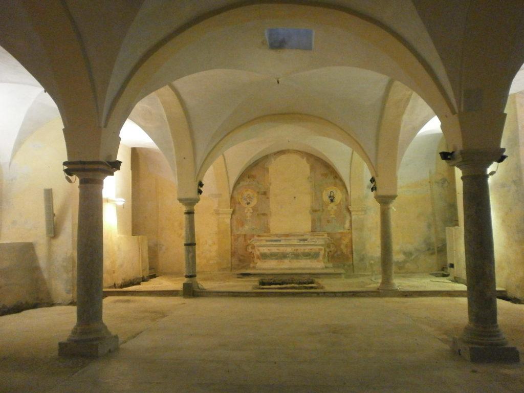 Santuario a Tresivio, la Cripta