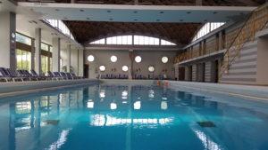 La piscina dell'Abano Ritz Hotel