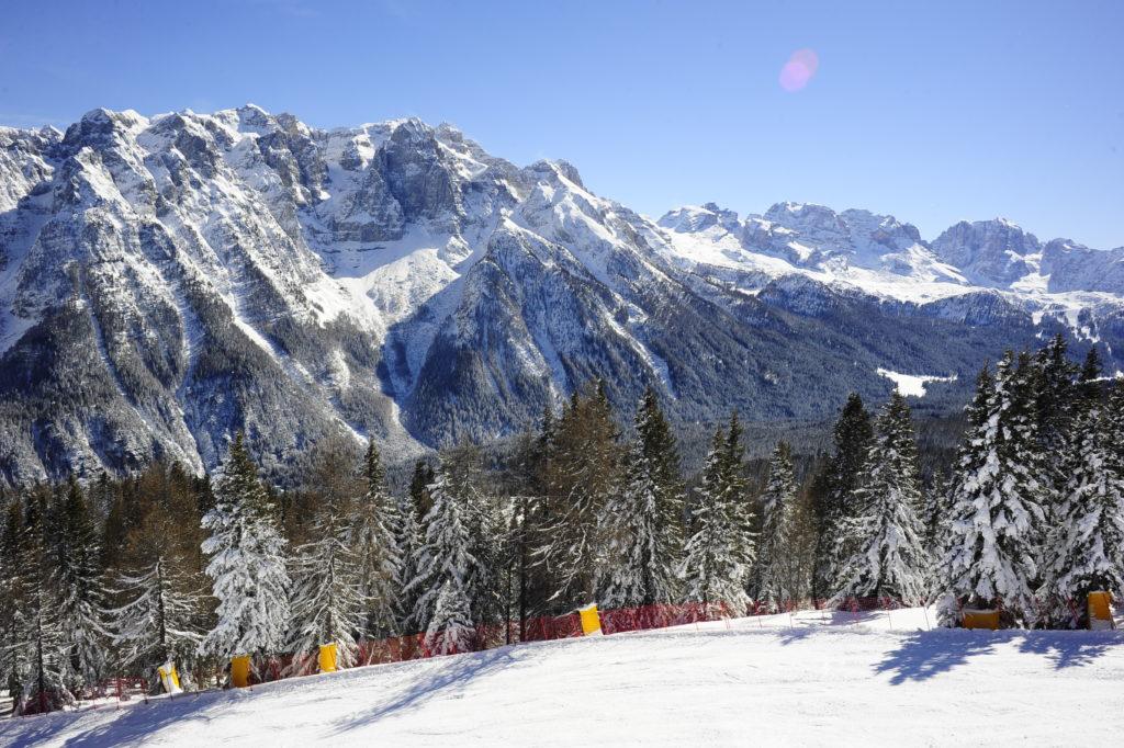 Le montagne e le piste raggiungibili dal Tevini Hotel