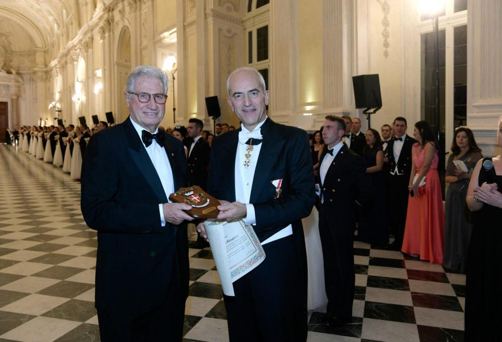 """Premiazione di Giorgetto Giugiaro Reggia di Venaria - Gran Ballo """"Vienna Sul Lago"""" 2019"""